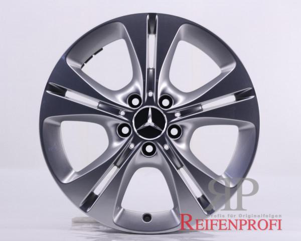 Original Mercedes Benz C-Klasse W205 A2054014300 Einzelfelge 17 Zoll MT207