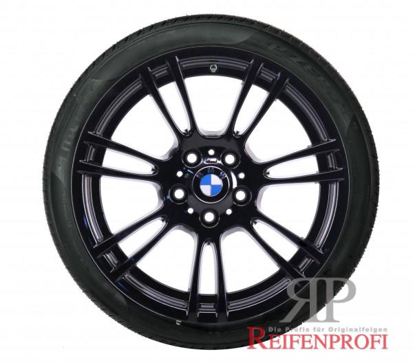 Original BMW 3er M3 E9x 18 Zoll Winterräder 2283905 Styling M270 Schwarz glänzend