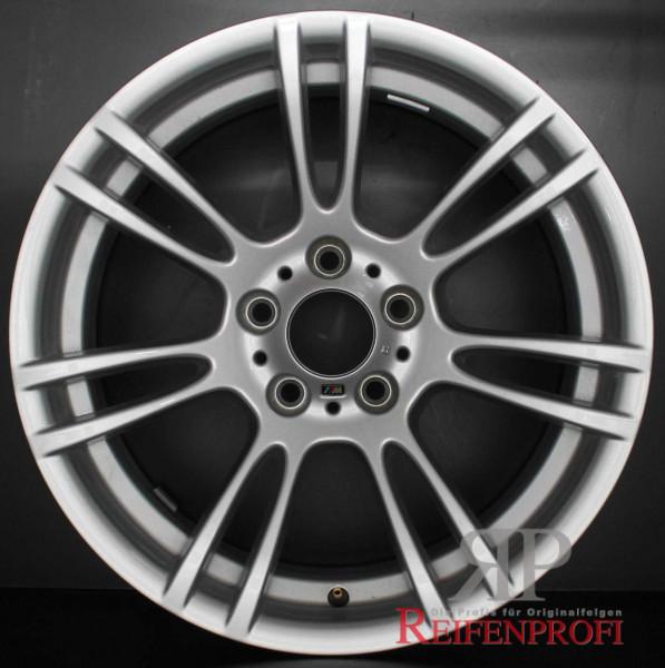 """Original BMW 1er M Coupe M3 3er E9X 5er E6X Felgen Satz 2283905 Styl. M270 18"""" Silber"""