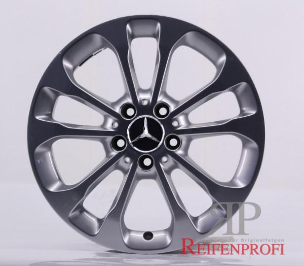 Original Mercedes GLA X156 A1564011700 Einzelfelge 17 Zoll MT86