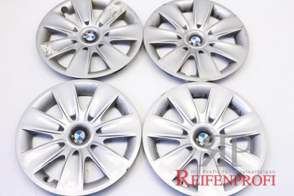 Original BMW 16 Zoll Radkappen Radzierblenden 62411810 4 Stück gebraucht R39