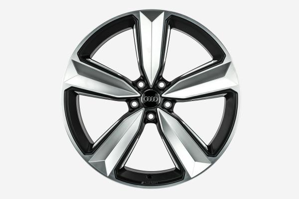 Original Audi RS4 RS5 8W B9 F5 20 Zoll Peak Felgensatz 8W0601025CS ORG