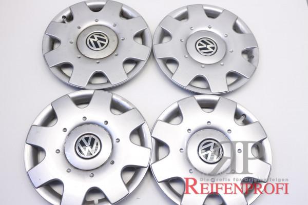 Original VW Passat Golf Touran 16 Zoll Radkappen Radzierblenden 1T0601147C 4 Stück gebraucht R4