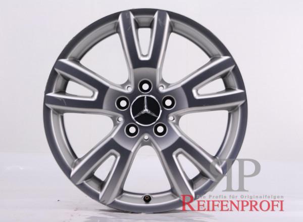 Original Mercedes C-Klasse W204 Einzelfelge A2044015802 17 Zoll MT249