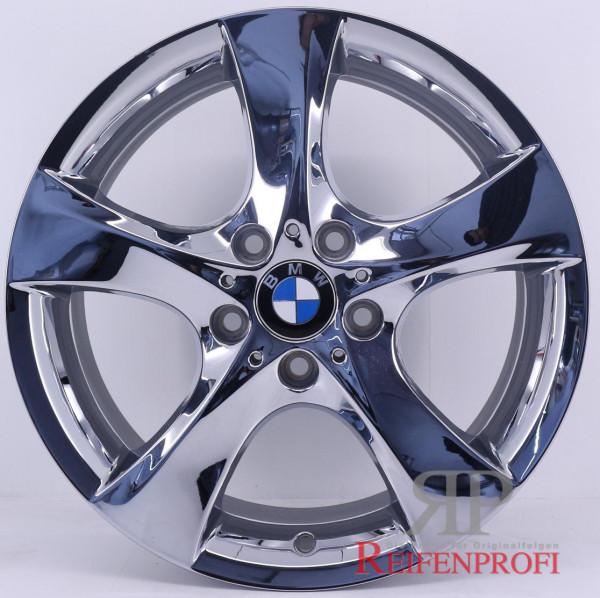 Original BMW 3er E90 91 92 93 19 Zoll Einzelfelge 6787642 Chrom VA