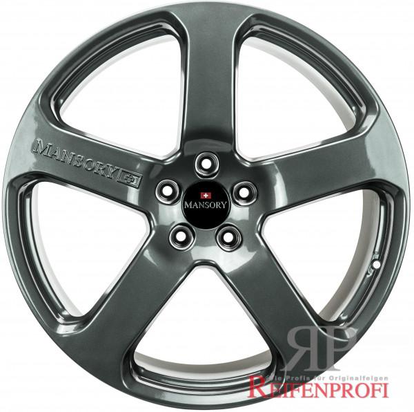 Porsche 911 Turbo 4S Mansory C5 20 Zoll Felgen Satz 8,5J&11x20 Titan glänzend NEU
