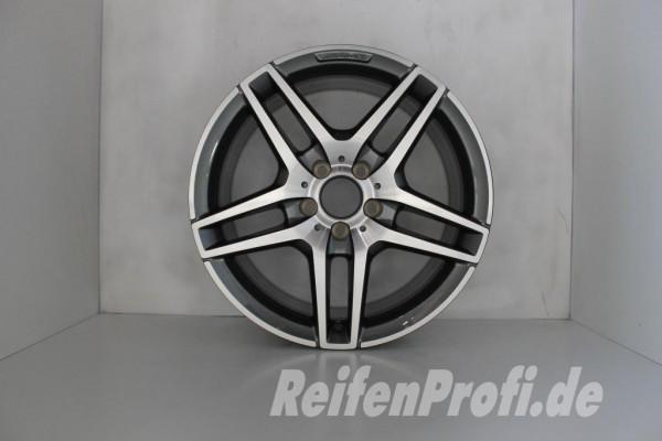 Original Mercedes W212 AMG E-Klasse Einzelfelge A2124010400 18 Zoll 512-C