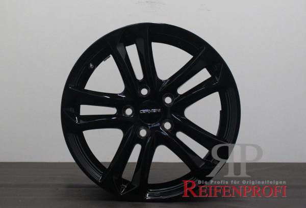 Carmani 05 Arrow black 7x16 ET45 5x108 Toyota Proace II Typ16 Zoll Felgen Satz 811-D
