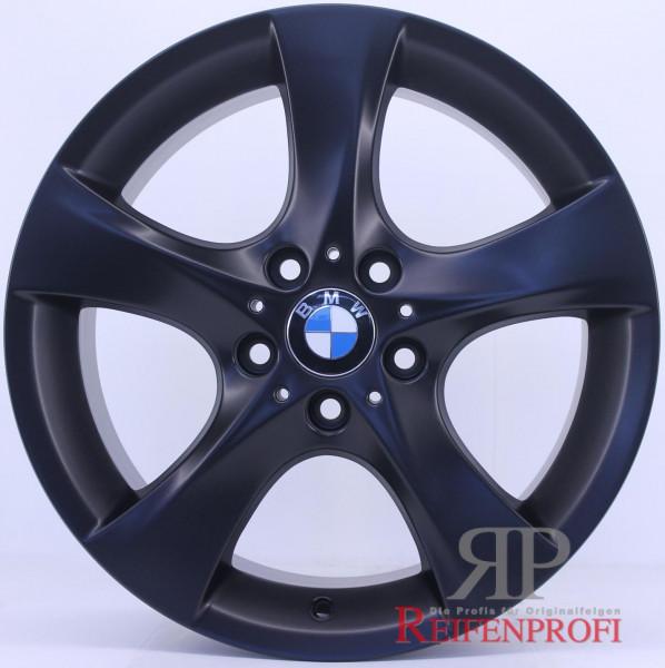 Original BMW 1er E81 E82 18 Zoll Alufelgen 7,5 & 8,5x18 Styling 311 Schwarz matt RPE6