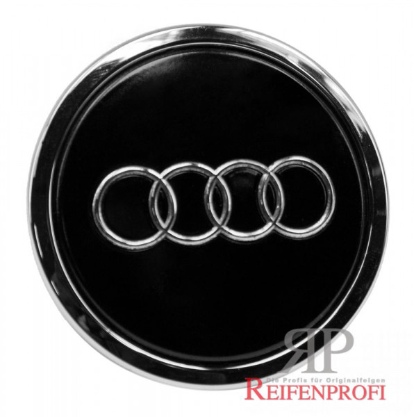 Original Audi A7 S7 4G Nabendeckel 8T0601170A AX1 Schwarz glänzend 4H0601025CH