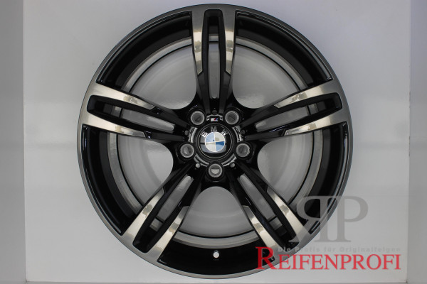 "Original BMW 2er F87 M2 3er F80 M3 4er F82 M4 Felgen Satz 2284550-551 Styling 437 19"" 1144-B1"