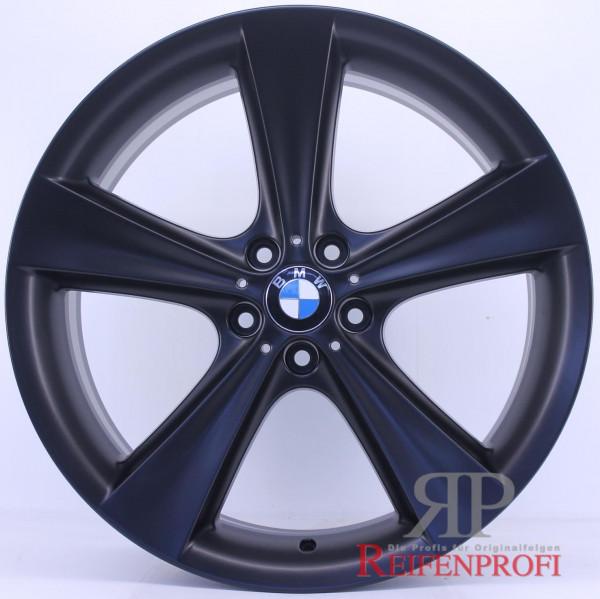 Original BMW X5 E70 F15 M Felgen Satz Styling 128 10Jx21 & 11,5Jx21 Schwarz matt RPX6