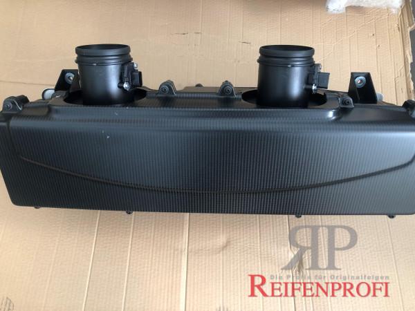 Original Audi R8 GT Luftfilterkasten komplett Air Cleaner Box 420133837 Carbon Matt