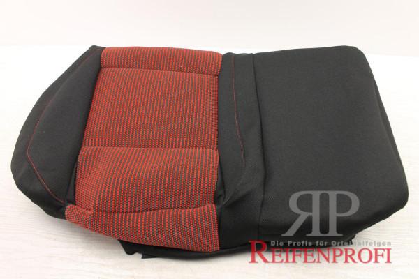 Original VW Golf 4 1J Sitzbezug hinten rechts rot schwarz 1J0885406CA KMA NEU