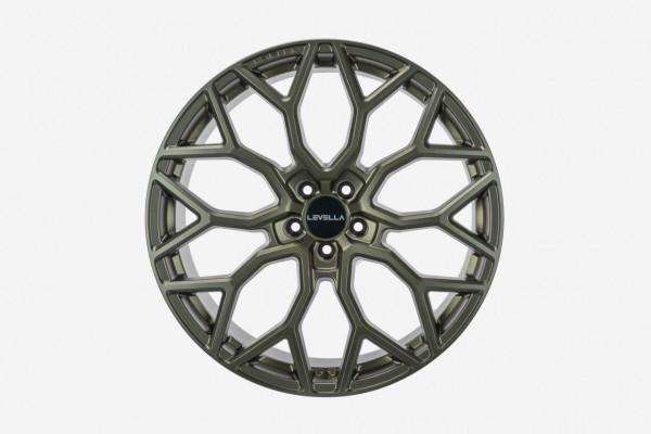 Lexus LS F5 21 Zoll Levella FF1 Flowform Felgen Satz 9x21 & 10,5x21 NEU B