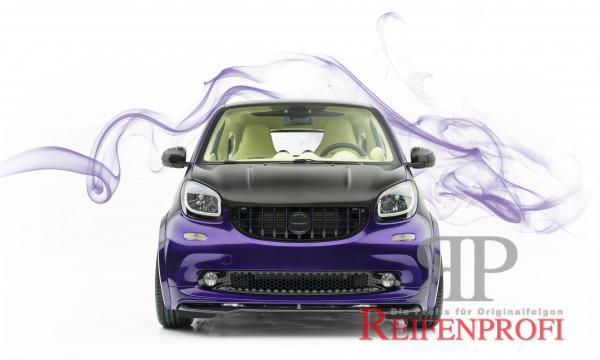 Smart 453 Kühlergrill - Mansory- schwarz glänzend