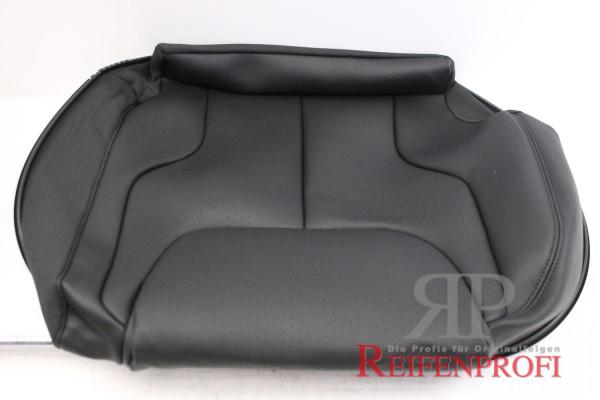 Original VW Passat 3C Sitzbezug Leder hinten links schwarz 3C9885405AG NEU