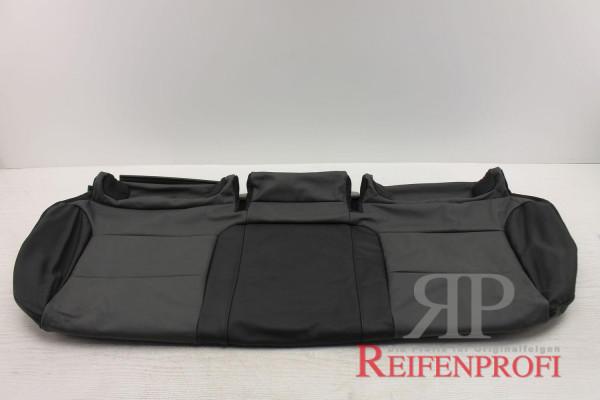 Original Audi A3 8P Sitzbezug hinten Bezug Isofix Leder schwarz 8P0885405BJ QPA NEU
