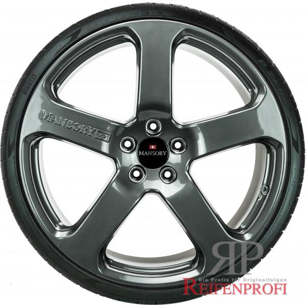 Porsche 911 Turbo 4S Mansory 20 Zoll Sommerräder 235&305 8,5&11x20 NEU Titan glänzend