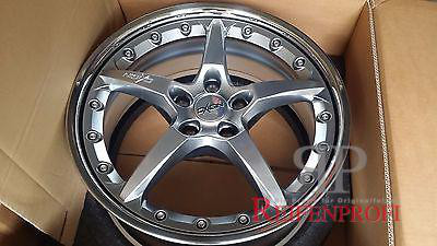 Oxigin 6 8x19 ET35 5x100 Auid A3 VW Golf Bora Chromsilber