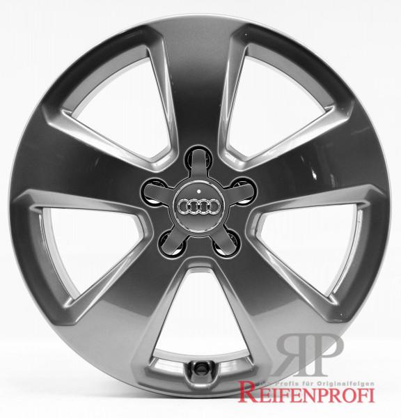 Original Audi A3 S3 8V Sportback 8V0601025C 6x17 ET48 Titan glänzend