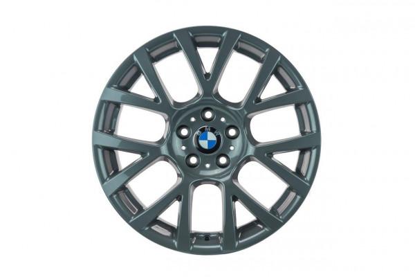 BMW 5er F10 F11 19 Zoll Felgen Satz 6775992 Original 7er Felgen Titan glänzend