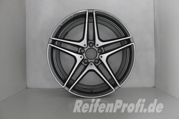 Original Mercedes AMG C-Klasse W205 A2054012000 Einzelfelge 19 Zoll