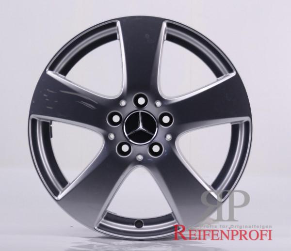 Original Mercedes Benz C-Klasse W205 A2054015500 Einzelfelge 18 Zoll MT106