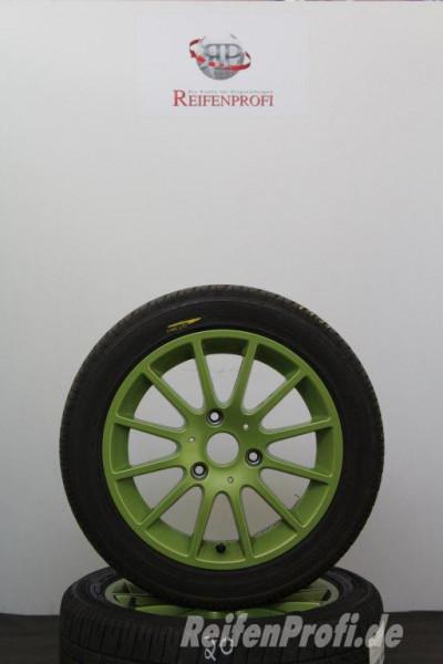 Original Smart Fortwo Energy Green A4514010102-402 Sommerräder 15 Zoll 673-C