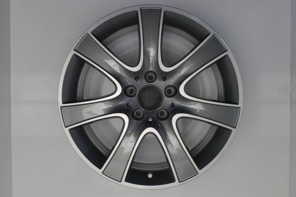 Original Mercedes S-Klasse W222 A2224011002 Einzelfelge 18 Zoll E9