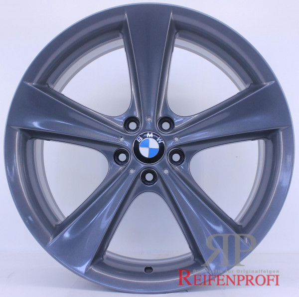 Original BMW X5 E70 F15 M 21 Zoll Felgen Satz Styling 128 6771425 26 Titan Glanz RPX5