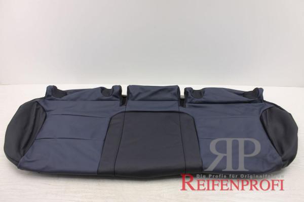 Original Audi A3 8P Sitzbezug hinten Bezug Isofix Leder blau 8P0885405BJ QPN NEU