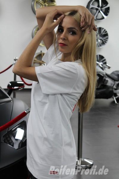 Qualitativ hochwertigs Levella T-Shirt Weiß Größe L Large