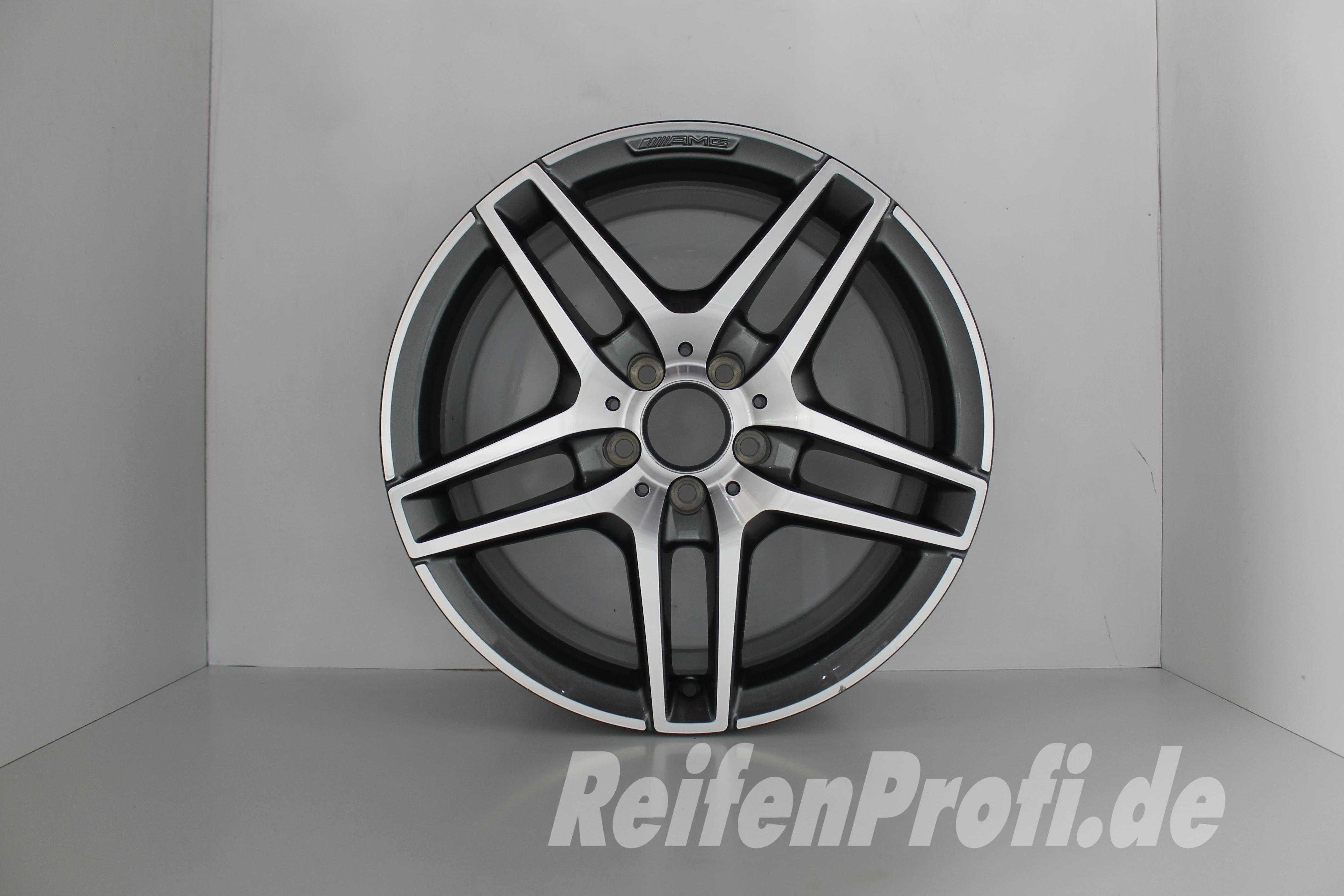Original Mercedes W212 AMG E Klasse Einzelfelge A 18 Zoll