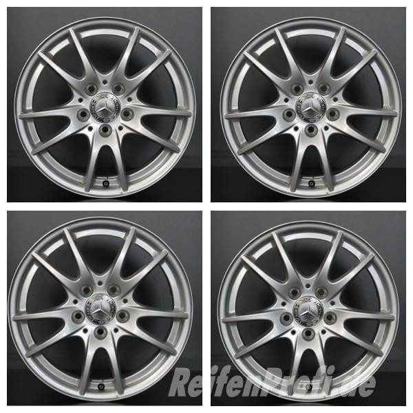 Original Mercedes A B Klasse W169 W245 A1694012702 Felgen Satz 16 Zoll DEMO LM3