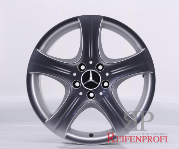 Original Mercedes Benz E-Klasse W212 A2124015902 Einzelfelge 17 Zoll E1 449-C