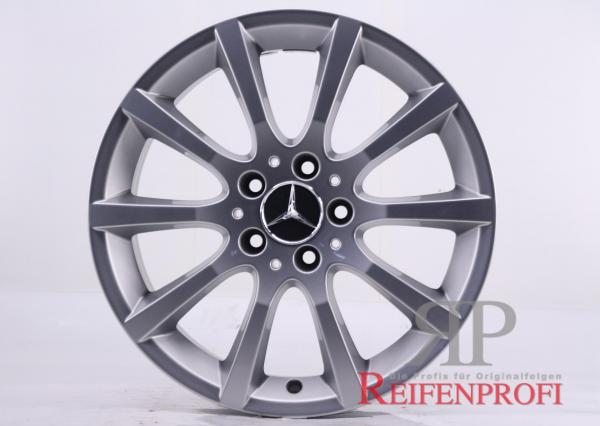 Original Mercedes SLK-Klasse W172 A1724010302 Einzelfelge 17 Zoll MT245