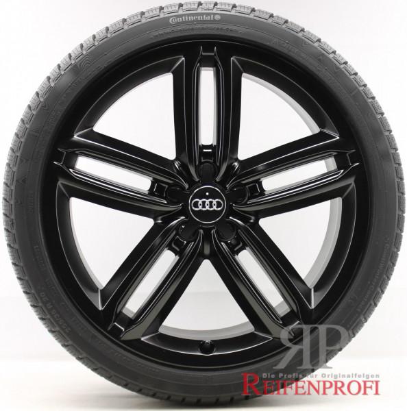 Audi A6 4G C7 20 Zoll Winterräder Wintersatz OE Felgen Schwarz matt
