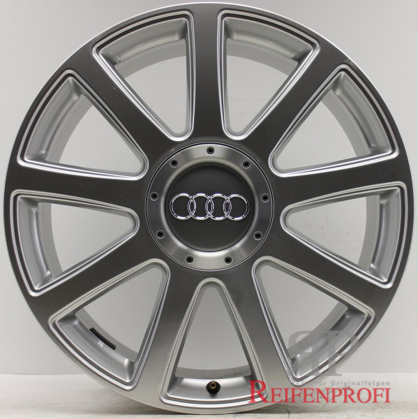 Original Audi Q7 4L 21 Zoll Alufelgen Satz 4L0601025T 9x21 ET60 Sline NEU
