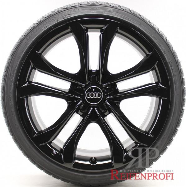 Audi A5 S5 F5 B9 19 Zoll Winterräder 8,5x19 ET32 Wintersatz Schwarz glänzend