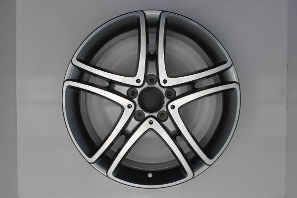 Original Mercedes S-Klasse W222 A2224011900 Einzelfelge 18 Zoll PE1002 378-B