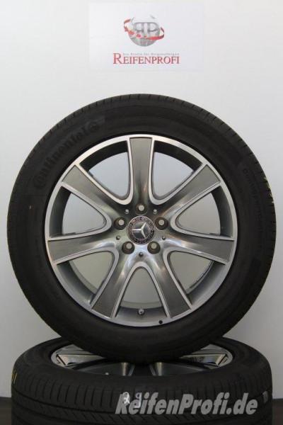 Original Mercedes S-Klasse W222 A2224011002-4011102 Sommerräder 18 Zoll 975-D