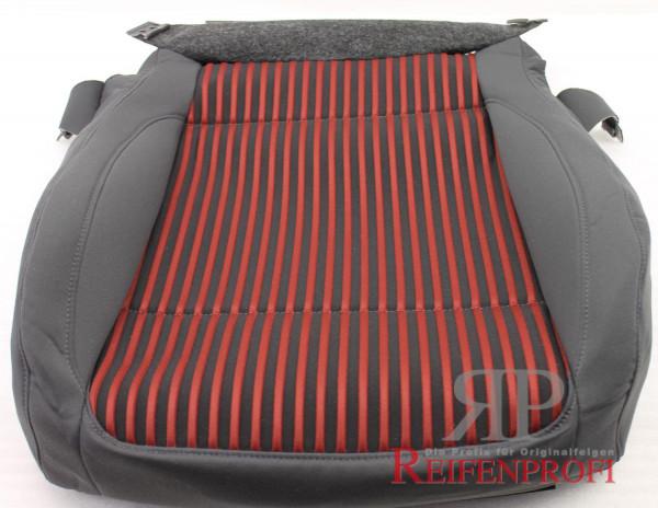 Original VW Golf Sitzbezug Stoff Bezug rot/anthrazit 1K0881405SQ TZW NEU