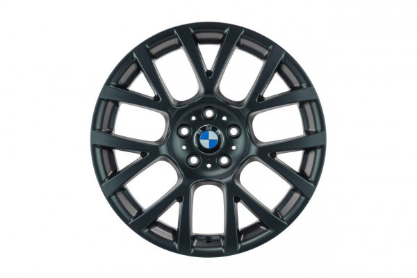 BMW 5er F10 F11 19 Zoll Felgen Satz 6775992 Original 7er Felgen Schwarz matt