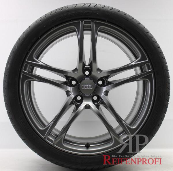 Original Audi R8 GT V8 V10 19 Zoll Sommerräder Sommersatz 8,5x19 & 10,5x19 Titan glänzend