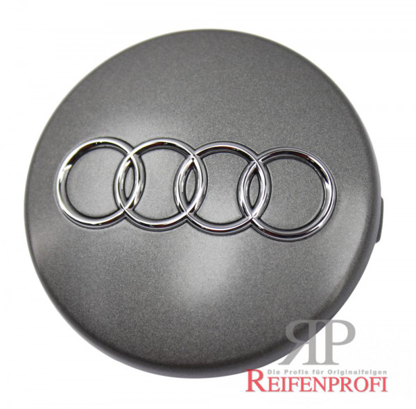 Original Audi RS6 S6 4F Nabendeckel 4B0601170 7ZJ grau-metallic 4F0601025BT