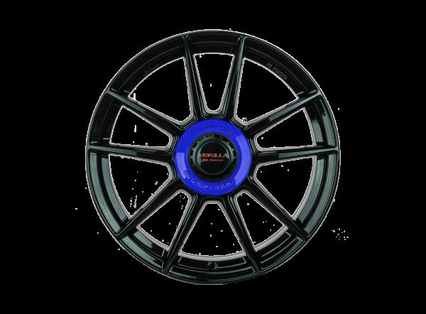 Audi A7 4K F2 Sportback 20 Zoll Felgen Satz Levella RZ1 ZV 8,5x20 ET30 Schwarz-Copy