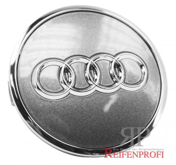 Original Audi A4 8W B9 Nabendeckel 8W0601170 JGS grau-glanz 8W0601025