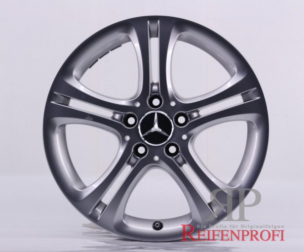 Original Mercedes A/B-Klasse W246 A2464011002 Einzelfelge 17 Zoll MT81