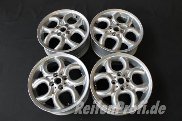 original mini 16 zoll circular spoke felgen satz r55 r56 r57 r58 r59